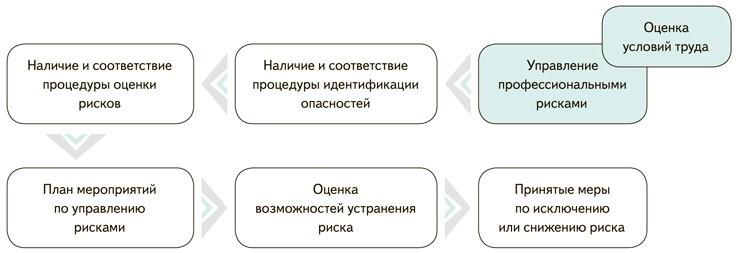 Организационная схема проверки