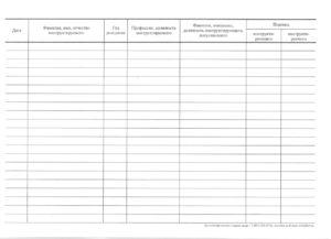 Журнал регистрации вводного инструктажа по ГО иЧС